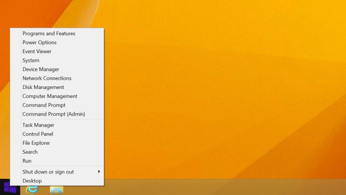 power user menu windows 8