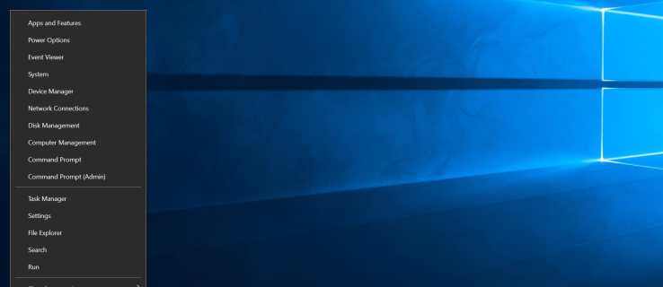 windows 10 power user menu