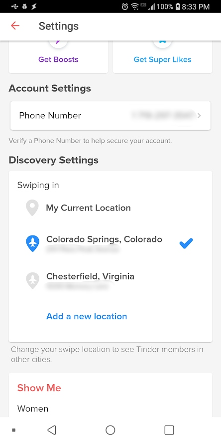how to trick tinder location iphone