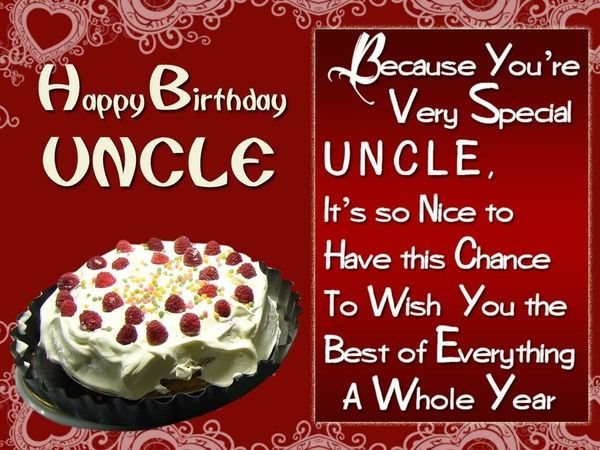 Best happy birthday uncle images 4