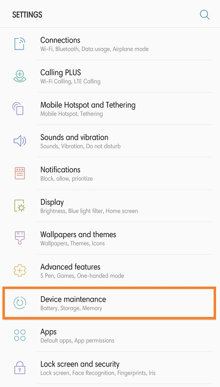 Galaxy Note 8 How to Clear App Cache