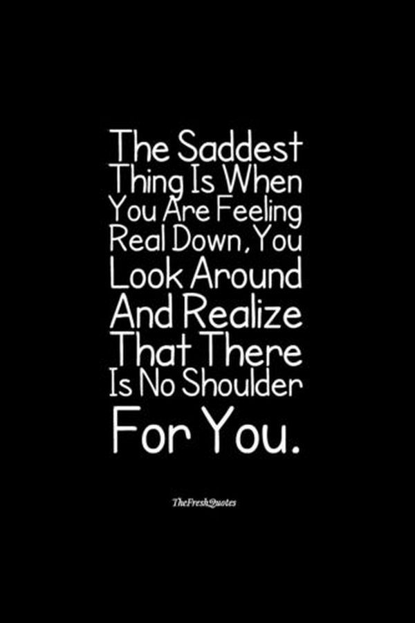Sad Quotes About Life And Love