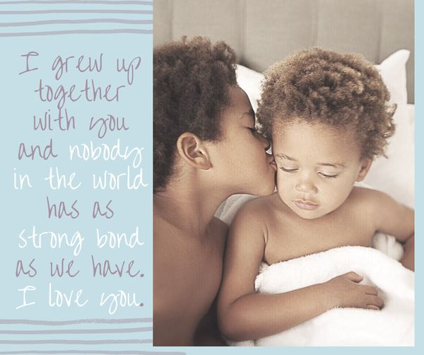 Sibling Love Quotes 1