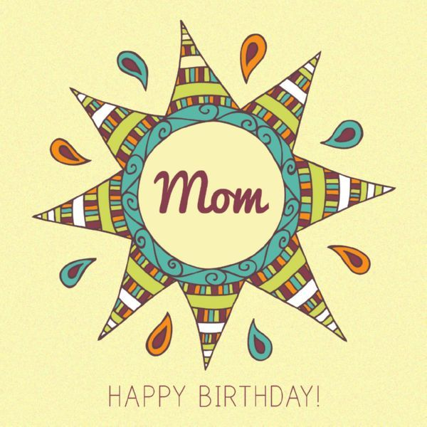 Happy Birthday Mom Quotes 5