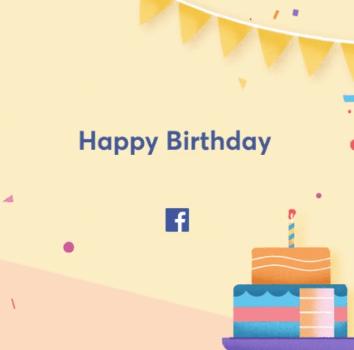 Facebook Birthday Settings