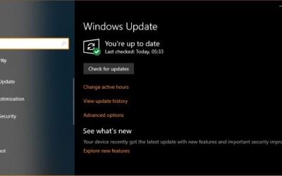 windows new update problems