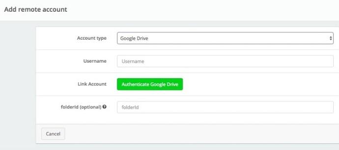 Offcloud google drive