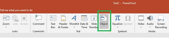 Reusing Powerpoint Slide
