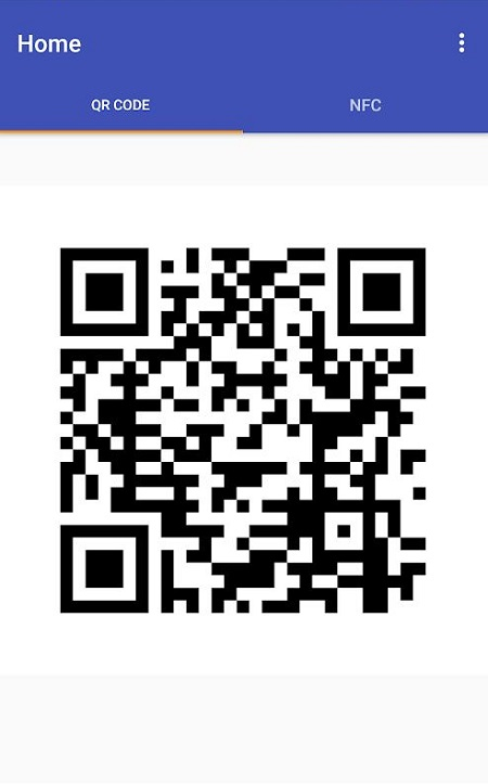 QR to NFC