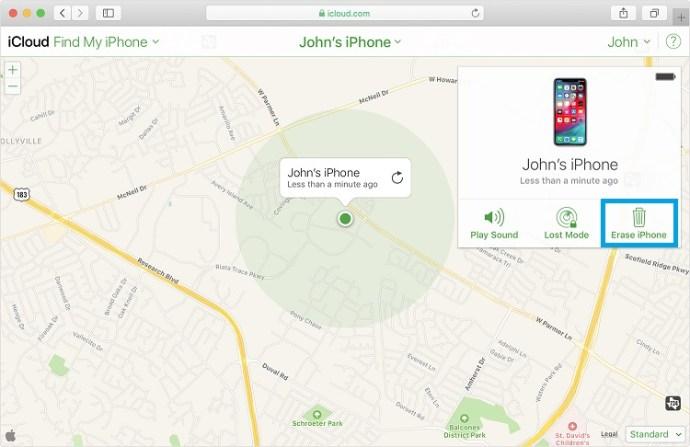 Unlock iPhone with iCloud