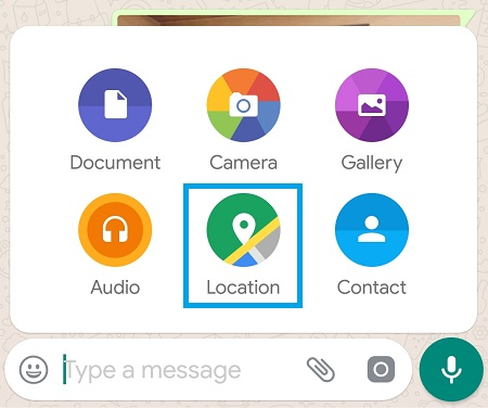 WhatsApp How to Track Location