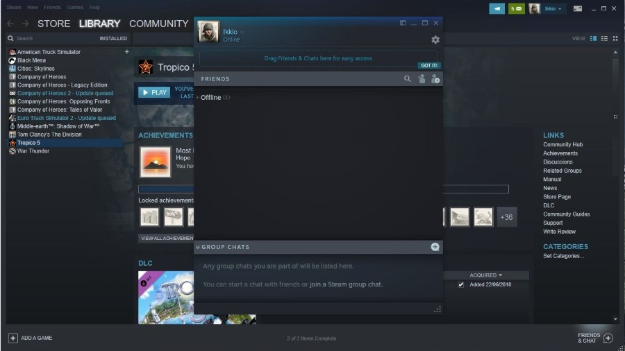 On you steam blocked to if tell someone How To