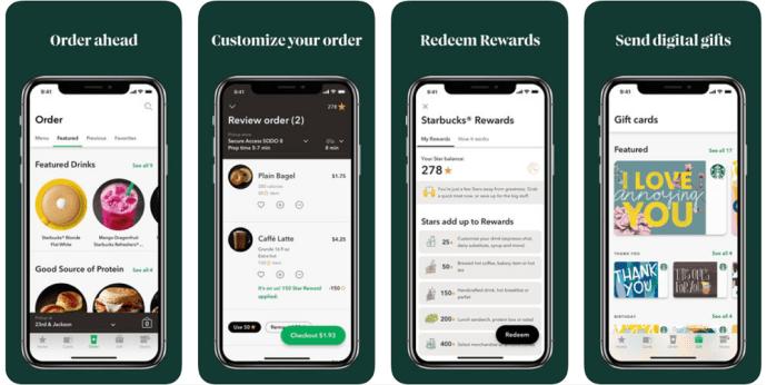 Check Starbucks Gift Card Balance on iPhone