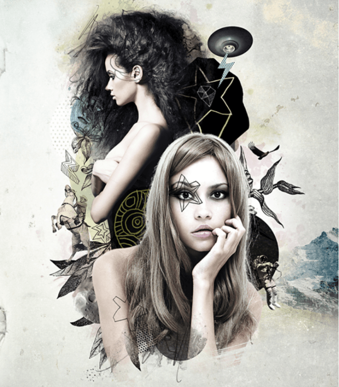 Create a Mixed Style Collage