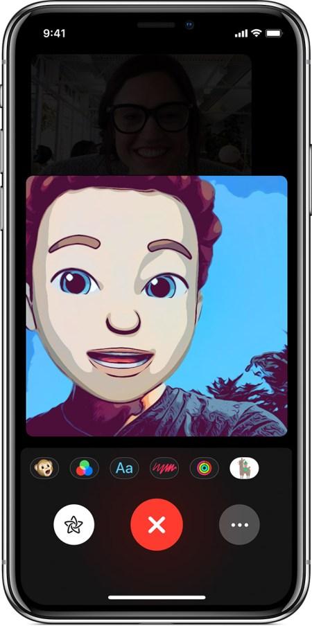 FaceTime Screenshots