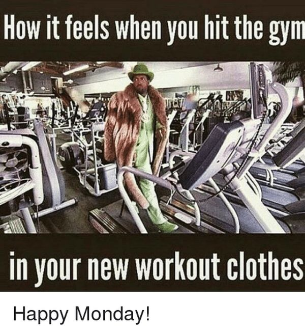 Funny memes about workouts in new sportswear 3