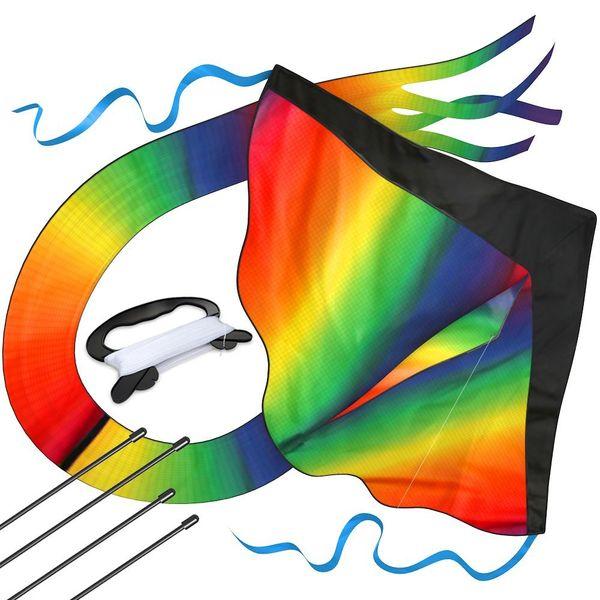 Huge Rainbow Kite