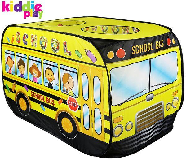Kiddie Play School Bus