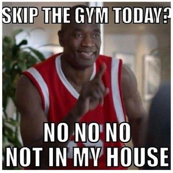 Saturday workout meme 1