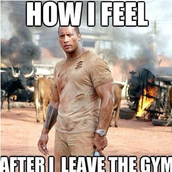 It hurts after workout memes 1