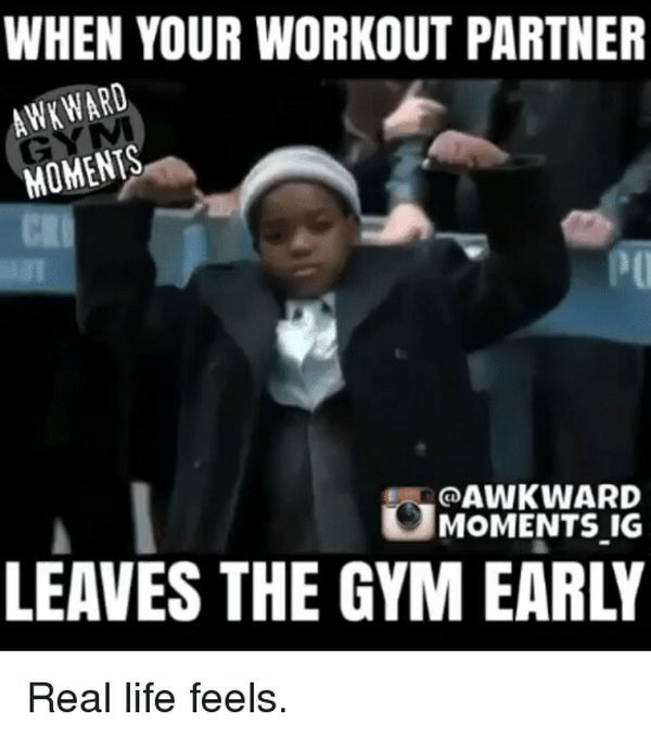 Workout Partner Meme about your relationship gym 1