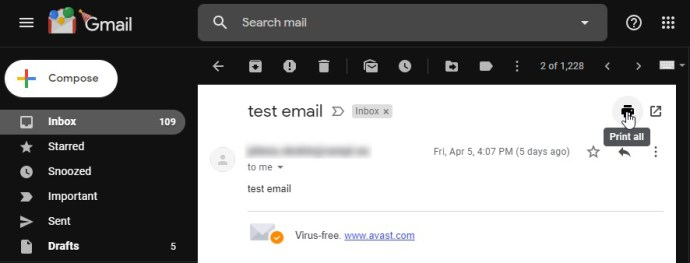 how to save gmail messages as pdfs
