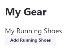 strava Add Running Shoes