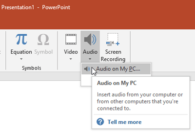 Automatically Play Audio in PowerPoint