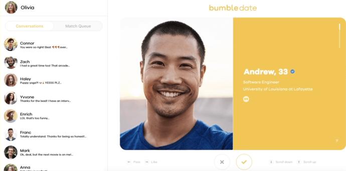 Bumble Order Profiles