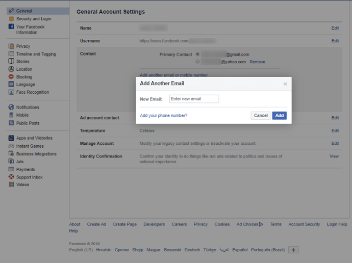 How to Change Email on Facebook