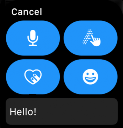 How to Send Message from Apple Watch