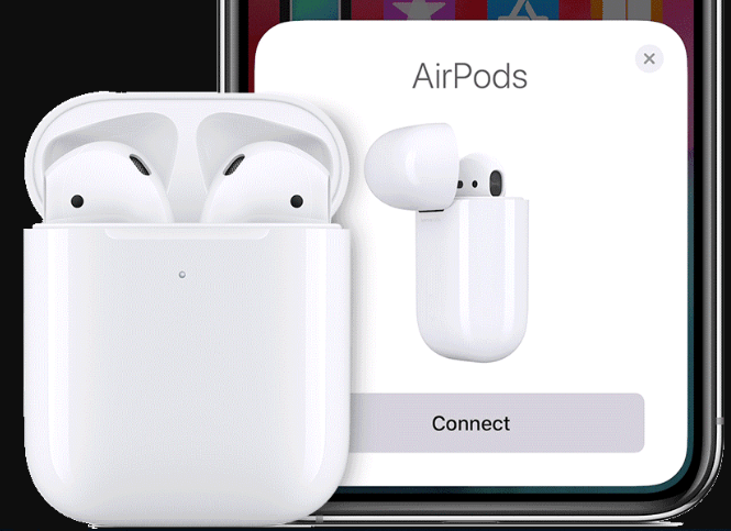 How to see the AirPods battery