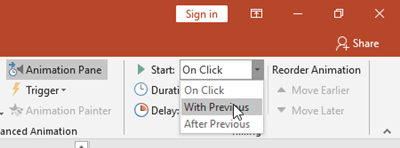 Play Audio automatically in PowerPoint