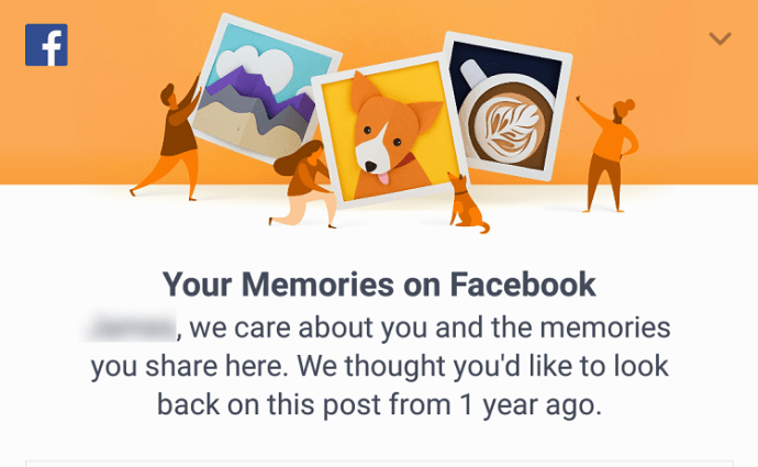 See Memories on Facebook
