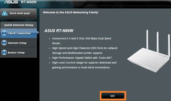 Set Up a Asus Router
