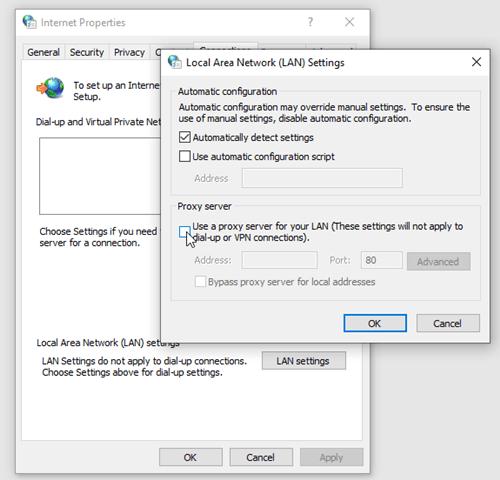 Ultrasurf how to set up a proxy server
