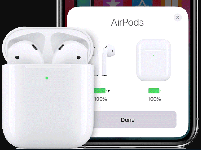 Check the battery of your AirPods