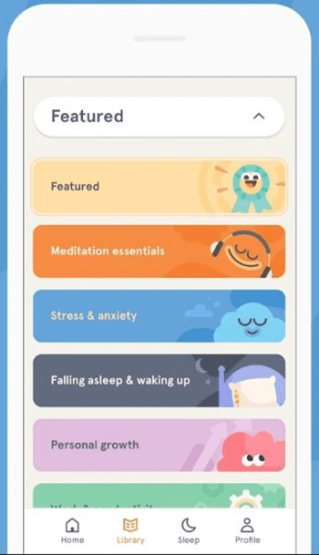 headspace interface