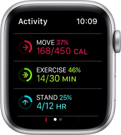 how to change calorie goals on iphone