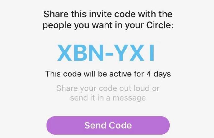life360 code