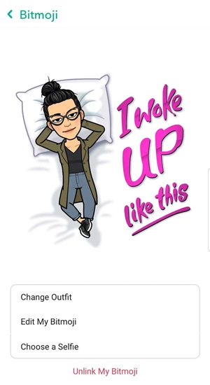 How To Change your Bitmoji Pose in Snapchat