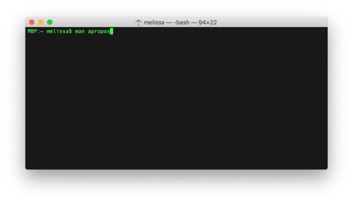 mac terminal prompt man