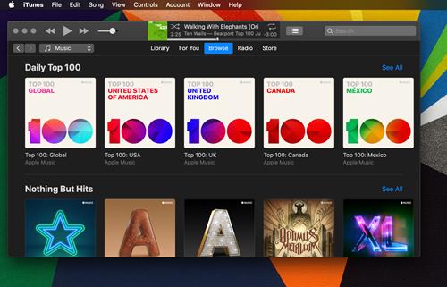 Apple Music Has a Dark Mode