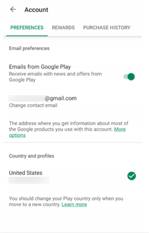 How to Change Country in the Play Store