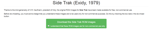 SIDE TRACK ROM