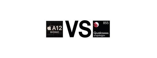Snapdragon 855 vs A12