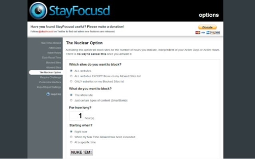 Stay Focust