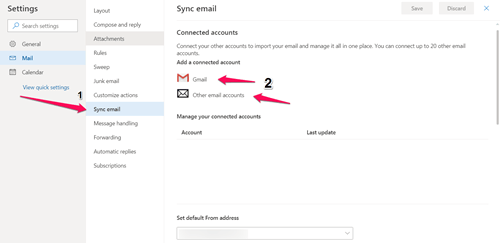 Email Sync