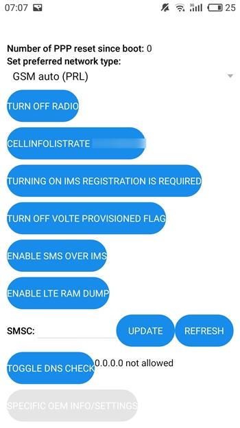 Turn off radio