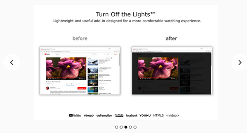 turn off the lights